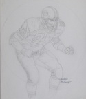 Forest Gregg – Green Bay, Tackle (Sketch #1)