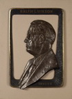 Bronze Relief Bust Of Ralph L. Wilson