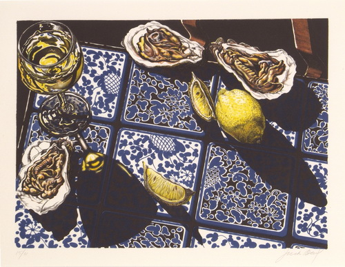 Oysters, Wine & Lemon