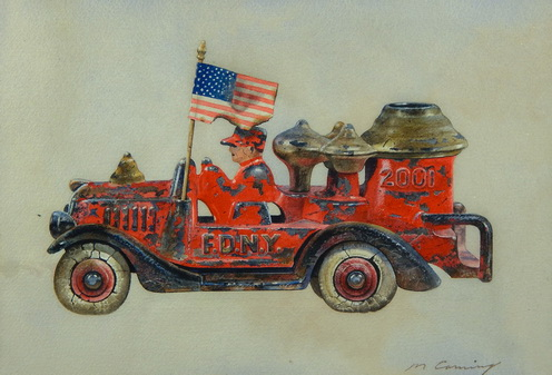 Nation of Hubley 1935 Fire Truck