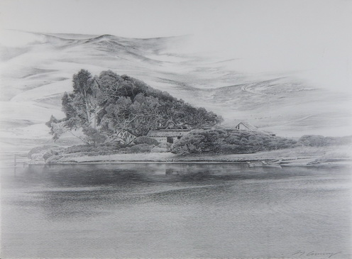 Green River (Mylar drawing)