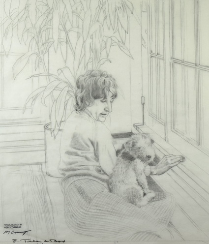 Tula & Boo, 7th Street House (Sketch)
