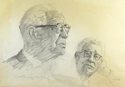 Art Rooney - The Chief (Horizontal Sketches)