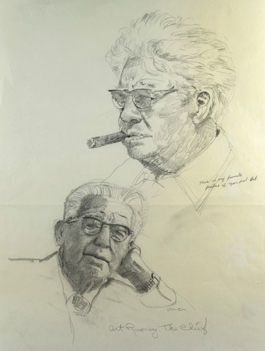 Art Rooney - The Chief (Vertical Sketches)
