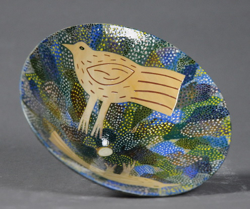 Bowl with Birds and Egg